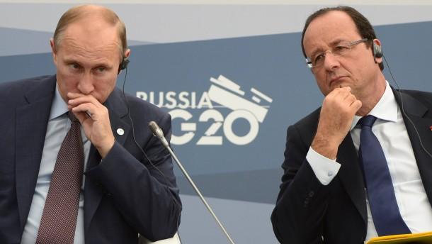 Putin und Obama haben sich doch persönlich getroffen