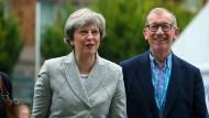 Theresa May muss sich beim Parteitag der Konservativen in Manchester bewähren.
