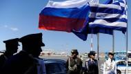Im Zwist: Russland und Griechenland