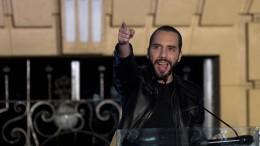 Nayib Bukele wird El Salvadors jüngster Präsident