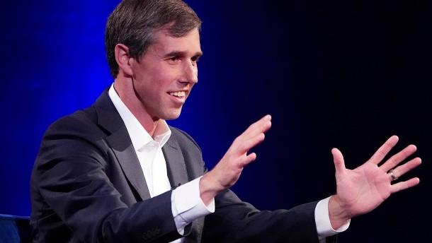 Beto O'Rourke kandidiert für Demokraten