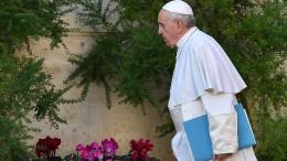 "Papst bezeichnet Kritiker als ""Freunde des Teufels"""