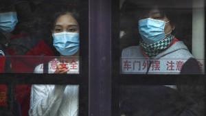 Millionenfache Corona-Tests in Chinas Städten