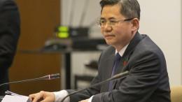 Chinas Botschafter darf nicht ins britische Parlament