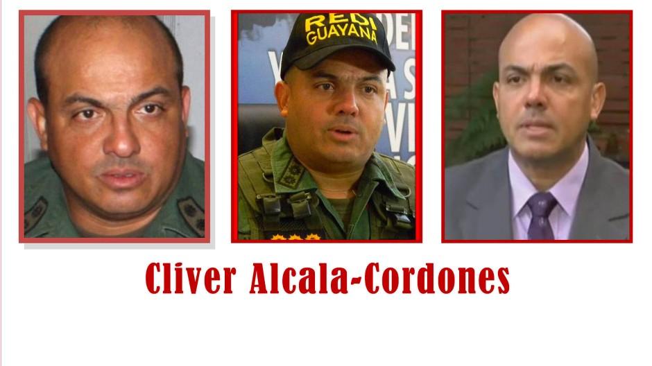 Amerikanisches Fahndungsplakat für Cliver Alcalá