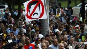 Venezuelas Stahlgitter der Unterdrückung
