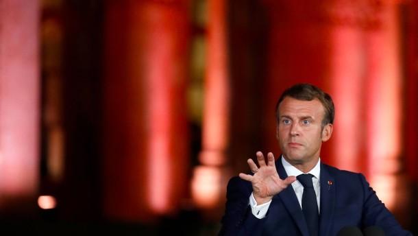 """Macron spricht von """"letzter Chance für dieses System"""""""