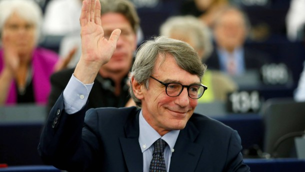 Italiener Sassoli wird Präsident des EU-Parlaments