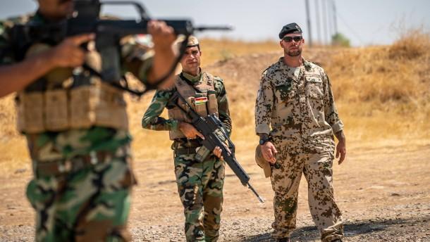 Bundeswehr erhöht Sicherheitsvorkehrungen im Irak
