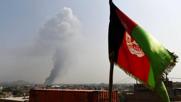 Mindestens sieben afghanische Soldaten getötet