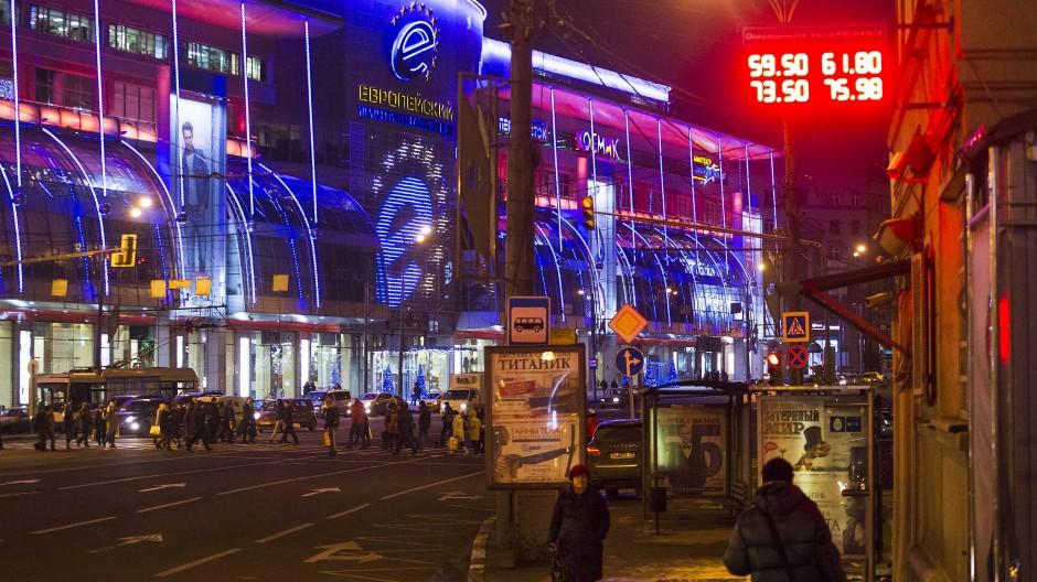 Modernisierung, Erneuerung, Innovation: Die Stadt soll glänzen wie ein Showroom Russlands.