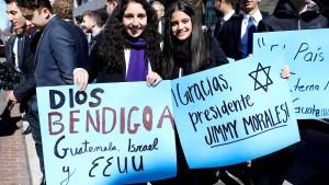 Guatemala will Botschaft nach Jerusalem verlegen