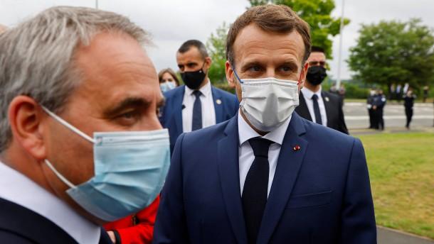 Schlappe für Macron und Le Pen