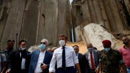 Geberkonferenz beschließt Nothilfe für Beirut