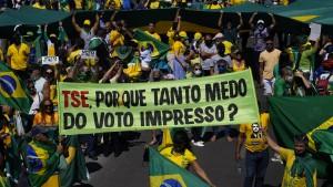 Bolsonaro auf Kollisionskurs mit der Justiz