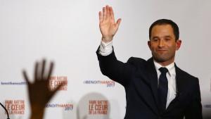 Vorwahlsieger Hamon macht Sozialisten sprachlos