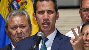 Guaidó hofft auf die Armee