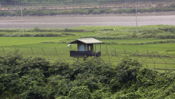 Nordkoreanischer Soldat flüchtet durch Demilitarisierte Zone