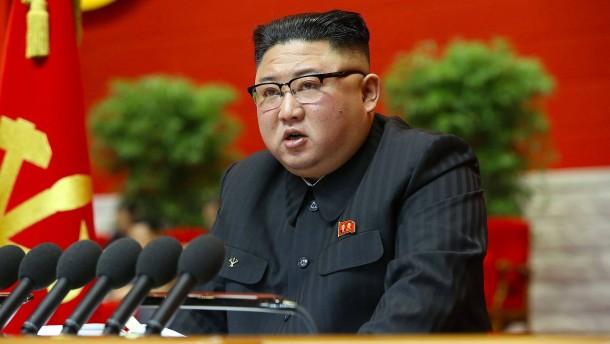 Kim Jong-un gesteht wirtschaftliches Scheitern Nordkoreas
