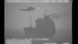 Iranische Sicherheitskräfte entern Tankschiff im Golf von Oman