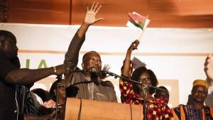 Kaboré siegt im ersten Wahlgang