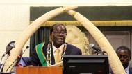 Elefantenfleisch für Robert Mugabe