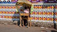 Madagaskar vor der Wahl: Ein Verkaufsstand in den Straßen von Antananarivo