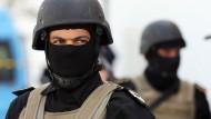 Armee mobilisiert: Wachtposten am Donnerstag vor dem Bardo National-Museum in Tunis