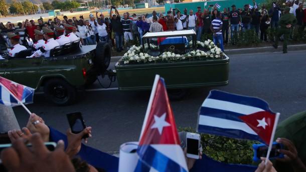 Fidel Castro beigesetzt