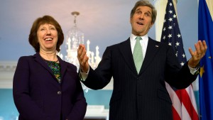 John Kerry, Catherine Ashton