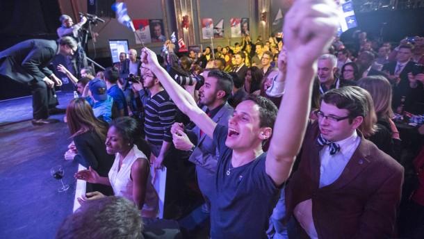 Dämpfer für Unabhängigkeitsbewegung in Quebec