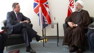 Cameron: Iran kann Teil der Lösung sein