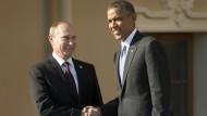 Obama bedankt sich bei Putin