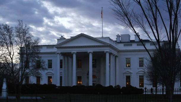 Kampfansagen an das Weiße Haus