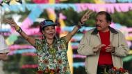 Daniel Ortega will seine Frau Rosario Murillo zur Vizepräsidentin machen.( Archivbild )