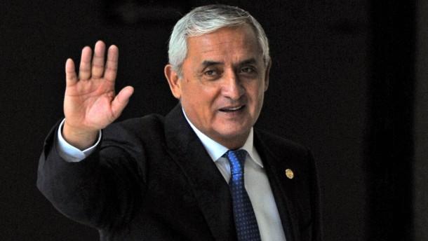 Guatemalas Staatschef tritt zurück