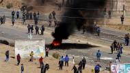 Streikende Bergleute töten Vize-Innenminister