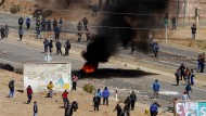 Bergleute erschlagen Vizeminister