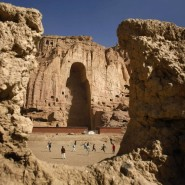 Die Buddha-Statuen von Bamiyan, die zum Weltkulturerbe der Unesco zählten, wurden im Jahr 2001 von den Taliban gesprengt.