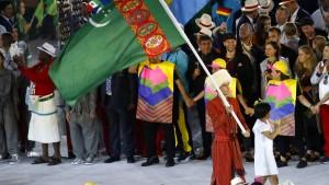 Turkmenistans Sportchef öffentlich gedemütigt