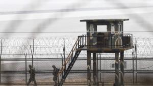Soldat flieht aus Nordkorea