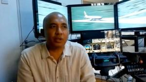 Der Chef-Pilot und sein Flugsimulator Marke Eigenbau
