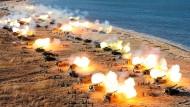 Nordkorea übt Zerstörung von Seoul