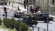 Taliban-Anschlag auf Parlament abgewehrt