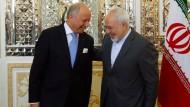 Paris vollzieht Kehrtwende gegenüber Iran
