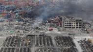 Peking zensiert Berichte über Katastrophe in Tianjin