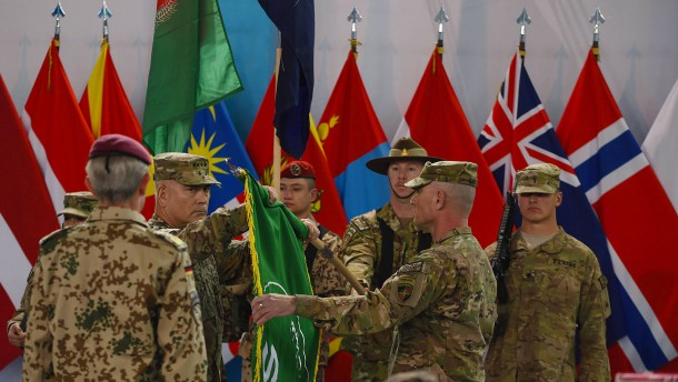 Nato beendet Kampfeinsatz