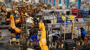 Streikverbot in der Werkhalle der Welt