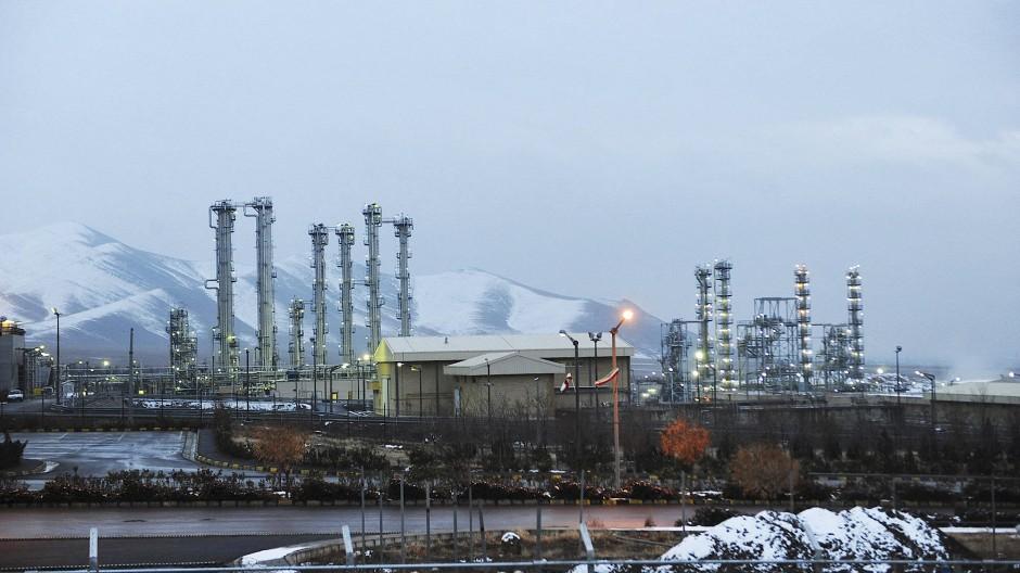 Der Schwerwasserreaktor in Arak ist integraler Bestandteil des iranischen Atomprogramms.