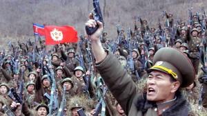 Nordkorea droht amerikanische Stützpunkte anzugreifen